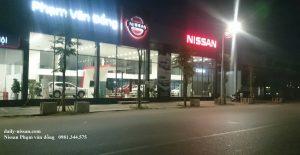 khu vực Phía trước của Nissan Phạm Văn Đồng
