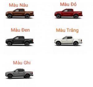 Màu Xe Nissan Navara Pro4X